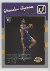 Brandon Ingram [Silver Press Proof] Basketball Cards 2016 Panini Donruss Prices