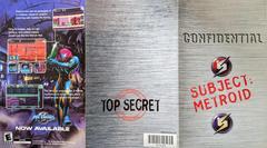 Metroid Fusion Ad - Front | Metroid Prime Gamecube