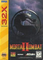 Mortal Kombat II - Front | Mortal Kombat II Sega 32X