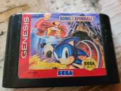 Cartridge (Front) | Sonic Spinball Sega Genesis