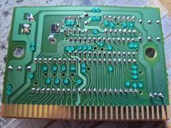 Circuit Board - Reverse   NHL All-Star Hockey 95 Sega Genesis