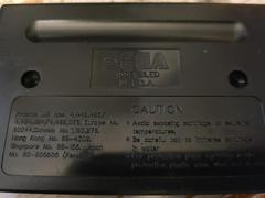Cartridge (Reverse) | Mickey Mania Sega Genesis