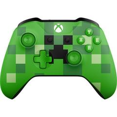 Front | Xbox One Minecraft Creeper Wireless Controller Xbox One