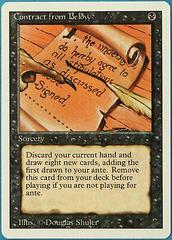 Contract from Below Magic Revised Prices