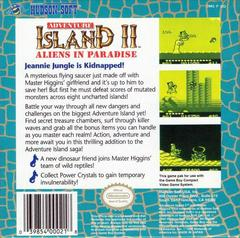 Adventure Island II - Back | Adventure Island II GameBoy