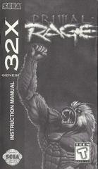 Primal Rage - Manual | Primal Rage Sega 32X