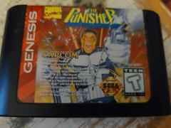Cartridge (Front) | The Punisher Sega Genesis