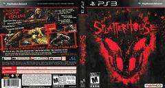 Artwork - Back, Front | Splatterhouse Playstation 3