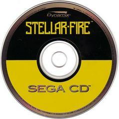 Stellar-Fire - Disc | Stellar Fire Sega CD