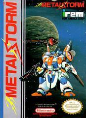 Metal Storm - Front   Metal Storm NES