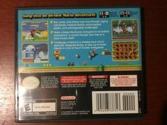 Back Cover | New Super Mario Bros Nintendo DS