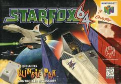 Front Cover | Star Fox 64 Nintendo 64