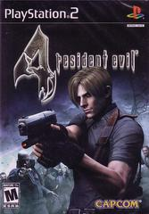 Front Cover   Resident Evil 4 Playstation 2