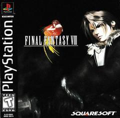 Manual - Front | Final Fantasy VIII Playstation