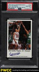 Scottie Pippen One Arm Up Blank Back Basketball Cards 1987 Entenmann's Bulls Prices