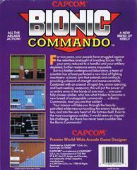 Reverse Box Art | Bionic Commando Commodore 64