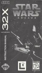 Star Wars Arcade - Manual | Star Wars Arcade Sega 32X