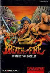 Breath Of Fire - Manual | Breath of Fire Super Nintendo