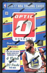 Retail Box Basketball Cards 2016 Panini Donruss Optic Prices