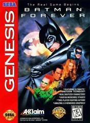 Front Cover | Batman Forever Sega Genesis