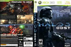 Slip Cover Scan By Canadian Brick Cafe | Halo 3: ODST Xbox 360