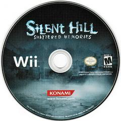 Game Disc   Silent Hill: Shattered Memories Wii