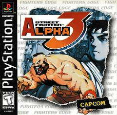 Manual - Front | Street Fighter Alpha 3 Playstation