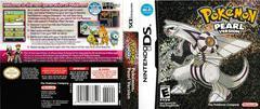 Artwork - Back, Front | Pokemon Pearl Nintendo DS