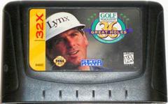 Golf Magazine Presents - Cartridge   Golf Magazine Presents 36 Great Holes Starring Fred Couples Sega 32X