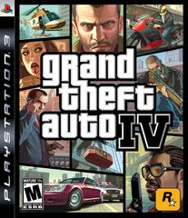 Front Cover | Grand Theft Auto IV Playstation 3
