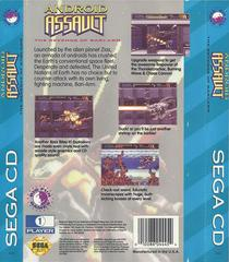 Android Assault - Back | Android Assault Sega CD