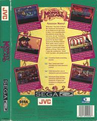 The Secret Of Monkey Island - Back | The Secret of Monkey Island Sega CD