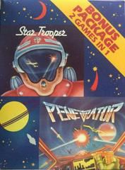 2 Games in 1 : Star Trooper & Penetrator Commodore 64 Prices