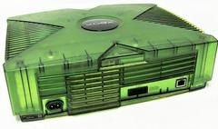 Back Of Console | Xbox System [Green Halo Edition] Xbox