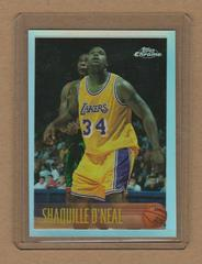 Shaquille O'Neal [Refractor] Basketball Cards 1996 Topps Chrome Prices
