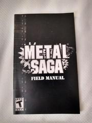 Manual   Metal Saga Playstation 2