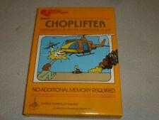 Choplifter Vic-20 Prices