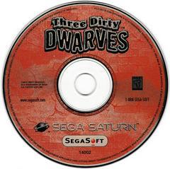 Game Disc | Three Dirty Dwarves Sega Saturn