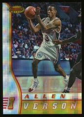 Allen Iverson [Atomic Refractor] Basketball Cards 1996 Bowman's Best Rookie Prices