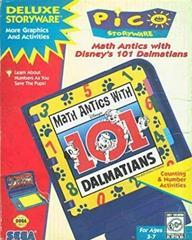 Math Antics with Disney's 101 Dalmatians Sega Pico Prices