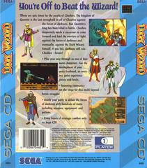 Dark Wizard - Back | Dark Wizard Sega CD