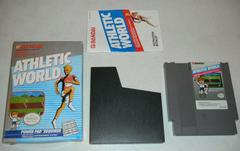 Box And Manual | Athletic World NES