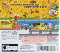 Back Cover | New Super Mario Bros. 2 Nintendo 3DS