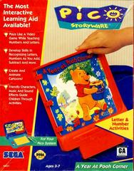 Front Cover | A Year at Pooh Corner Sega Pico