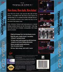 The Terminator - Back | Terminator Sega CD