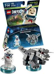 Stay Puft & Terror Dog | Ghostbusters - Stay Puft [Fun Pack] Lego Dimensions