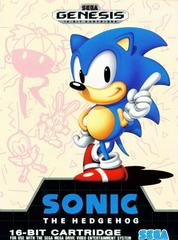 Front Cover [CAN] | Sonic the Hedgehog [Not for Resale] Sega Genesis