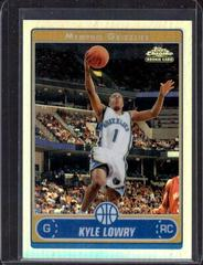 Kyle Lowry [Refractor] Basketball Cards 2006 Topps Chrome Prices
