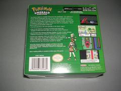 Back Of Box | Pokemon Emerald [Case Bundle] GameBoy Advance