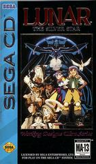 Lunar: The Silver Star - Front / Manual | Lunar The Silver Star Sega CD